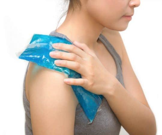 یخ درمانی برای کاهش گرفتگی عضلات