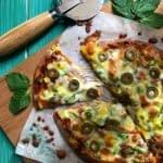 طرز تهیه پیتزای فوری با نان پیتا مرحله به مرحله