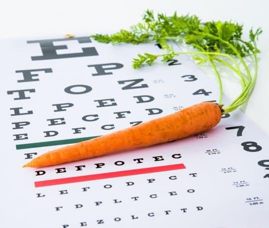 تقویت بینایی چشم