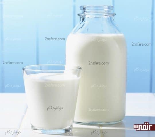 شیر سرد درمانی مناسب برای مسمومیت غذایی