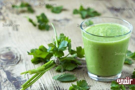 آب سبزی جعفری
