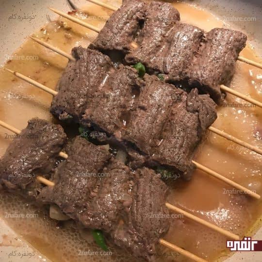 آب انداختن گوشت