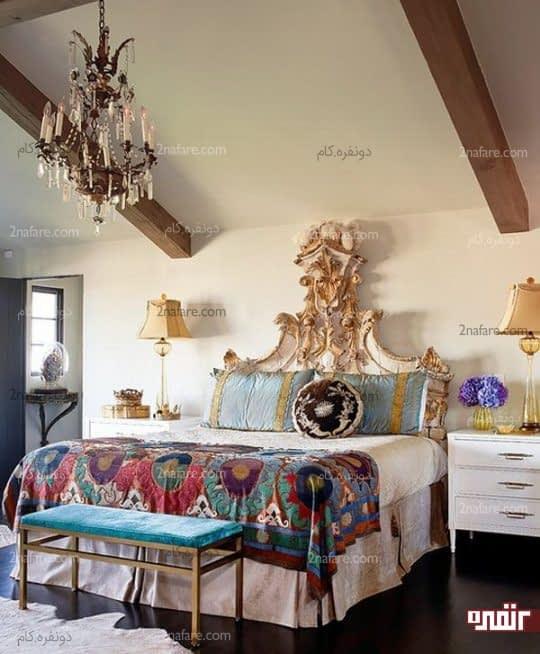 اتاق خواب با مبلمان متفاوت در سبک های مختلف