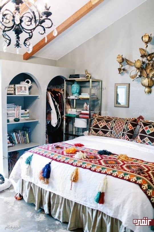 اثاثیه اتاق خواب در سبک ها و طرح های متفاوت