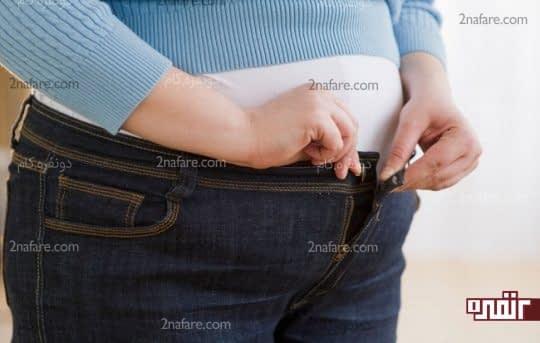 اضافه وزن و افتادگی رحم