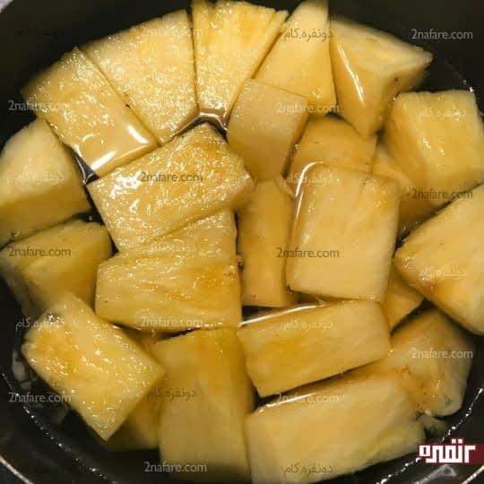 اضافه کردن آناناس