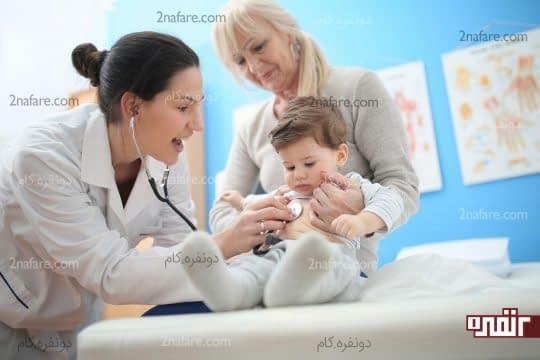 با پزشک متخصص اطفال صحبت کنید