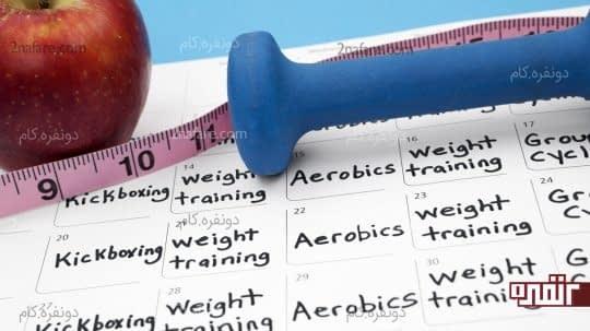 برای تمرینهای ورزشی خود برنامه ریزی داشته باشید