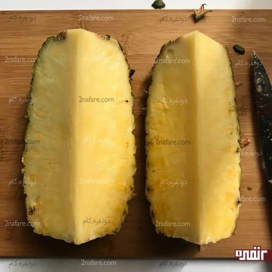برش دوباره آناناس