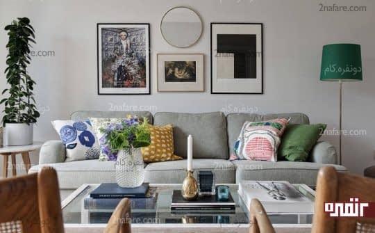 تابلوها و لوازم تزیینی برای زیباتر کردن دیوارها