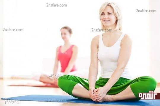 تجربه ای خوشایند با تمرینات روزانه یوگا