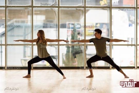 تخلیه انرژی منفی و کاهش استرس با یوگا