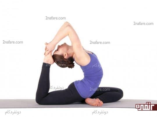 تقویت عضلات با یوگا