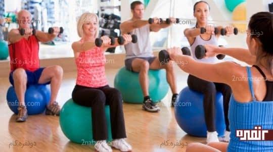 تمرینات پرورش اندام