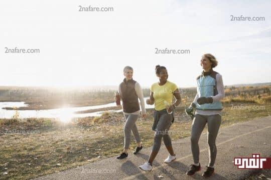 تمرینی ساده برای تناسب اندام به نام پیاده روی