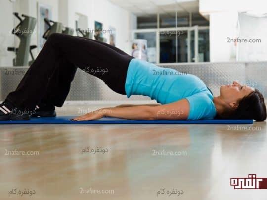 تمرین کگل برای تقویت عضلات لگن