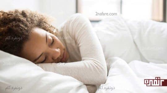 خواب آرام با ورزش