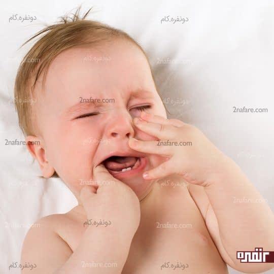 درد ناشی از رویش دندانها