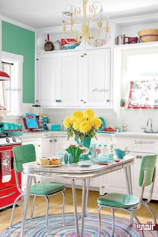ایده های ساده برای تزیین آشپزخانه