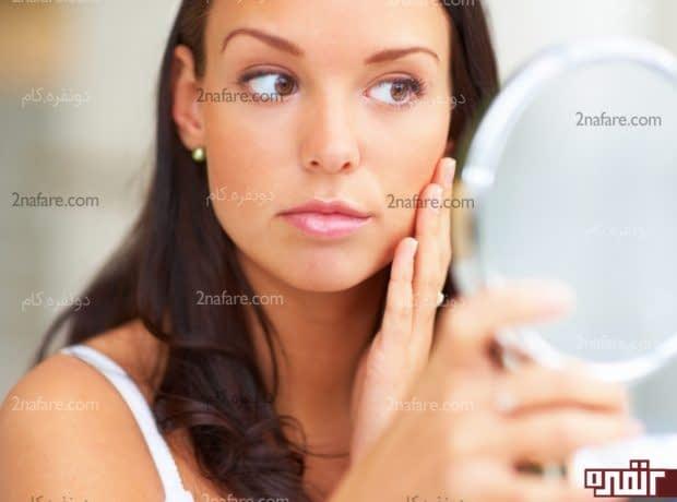 روشهای طبیعی برای چاقی صورت