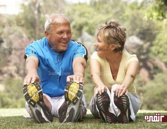 سلامت جسم و روان با ورزش