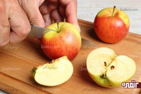 پوره ی سیب معجون ضد چین و چروک