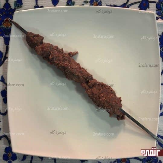 سیخ زدن گوشت
