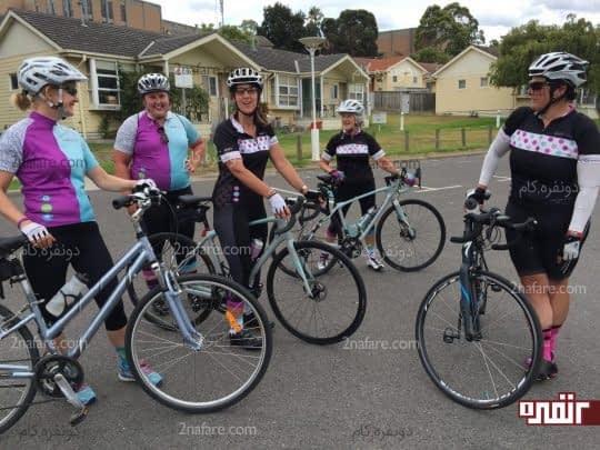 فواید دوچرخه سواری برای خانمها