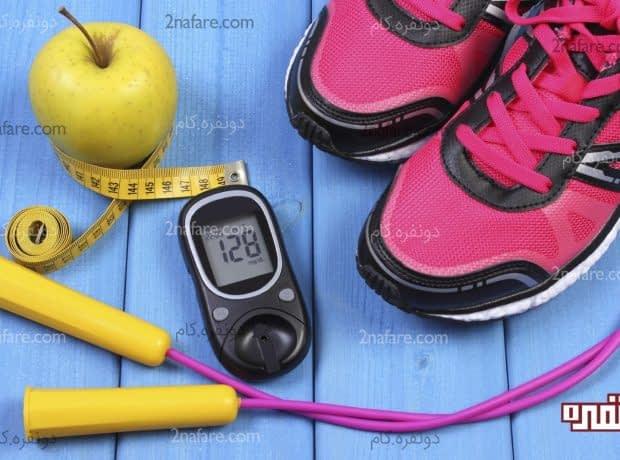فواید ورزش برای بیماری دیابت