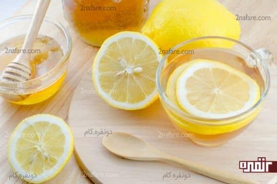 لیمو و عسل ترکیب شگفت انگیز
