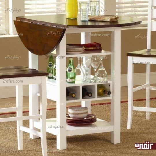میزهای همه کاره مخصوص فضاهای مدرن صبحانه خوری