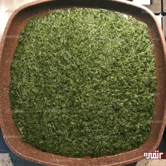 پختن کوکو