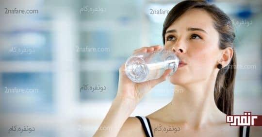 پیش از احساس تشنگی شدید آب بنوشید