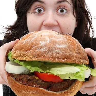 چطور بخوریم که چاق نشیم
