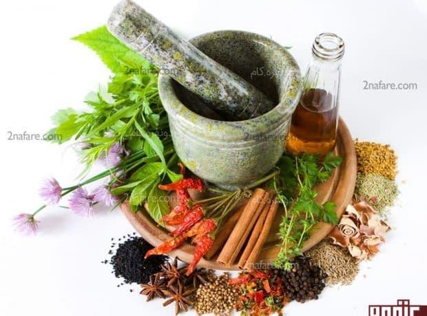 چگونه با داروهای گیاهی لاغر شویم؟