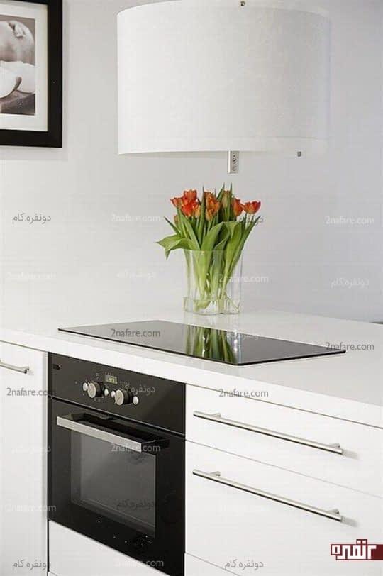 کابینت های طراحی شده مخصوص آشپزخانه های کوچک