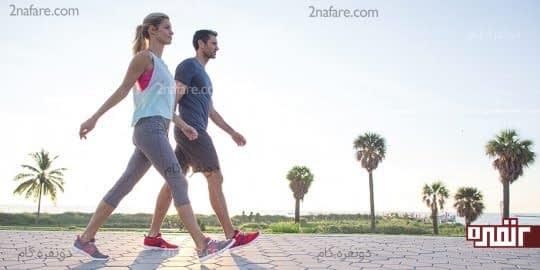 کاهش استرس با پیاده روی