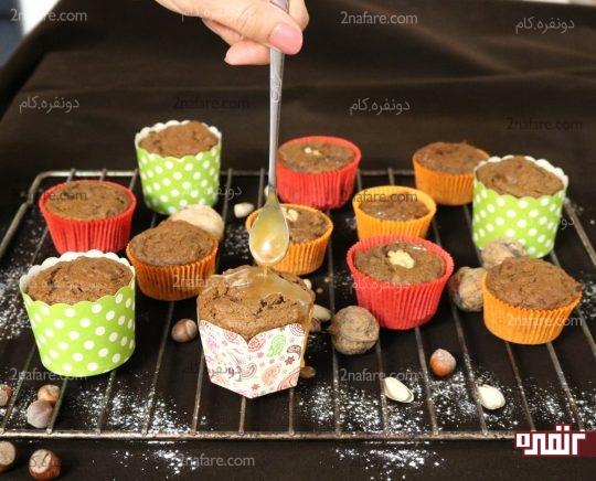 کاپ کیک خرما