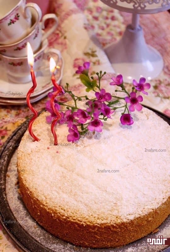 کیک اسفنجی ویکتوریا 1