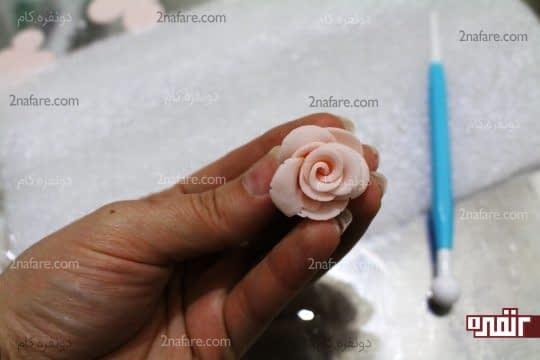 گل رز آماده شده