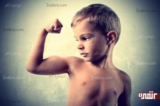 پروتئین باعث ماهیچه سازی در کودک میشه