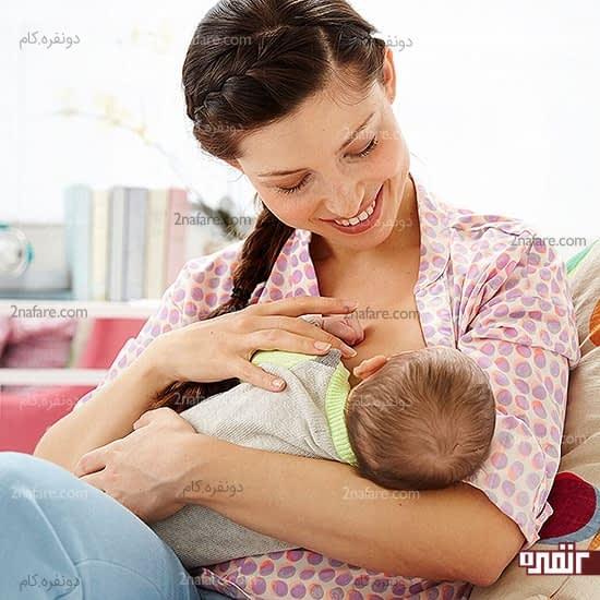 شیردهی موجب ترشح هورمون در بدن زنان میشه