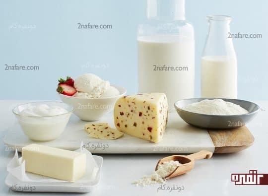 لبنیات برای دیابتی ها