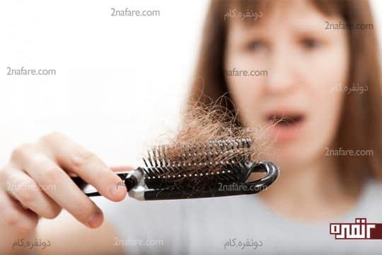 جلوگیری از ریزش مو در دوران بارداری