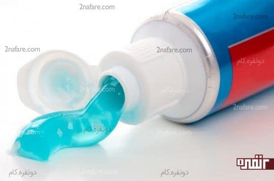 خمیر دندان برای کاهش التهاب نیش زنبور عسل