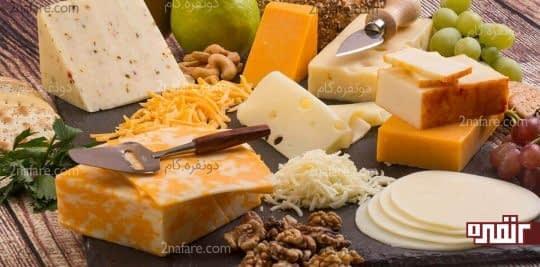 فواید و مضرات پنیر