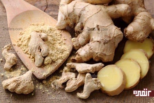 برای کمک به هضم غذا زنجبیل بخورید