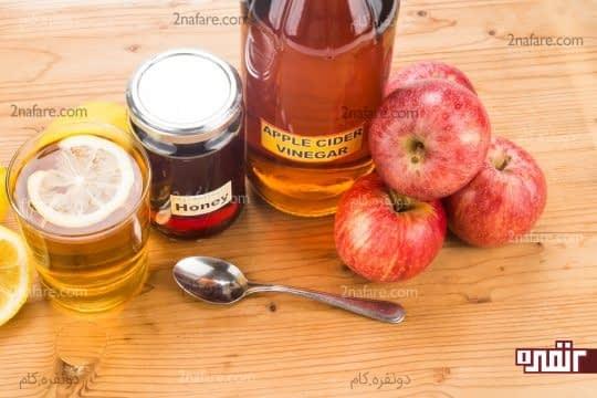 سرکه سیب برای کنترل اسید معده