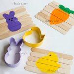 ساخت پازل با چوب بستنی برای بچه ها