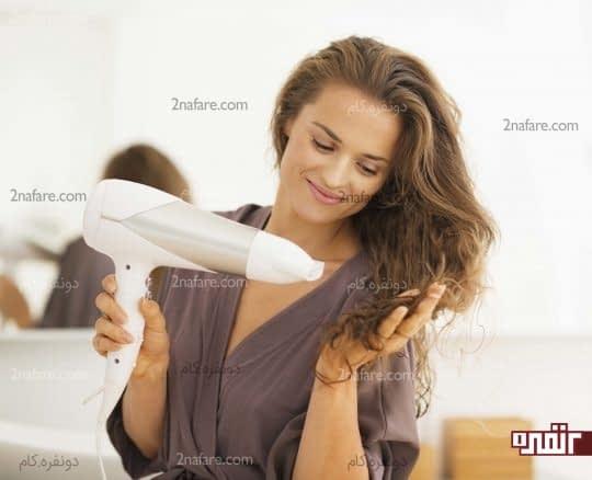 آیا سشوار برای خشک کردن مو مناسب است؟